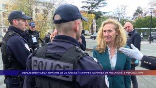Yvelines | Déplacement de la ministre de la justice à Trappes, quartier de reconquête républicaine