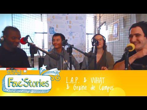 FAC'STORIES Caen - 3 projets étudiants à fort impact social
