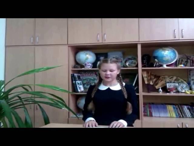 Мария Зайцева читает произведение «Родине» (Бунин Иван Алексеевич)