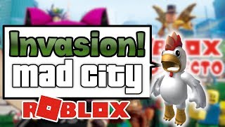 New Mad CIty ROBLOX Update! To beat the Postho