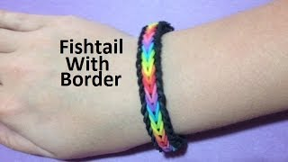 How to Make the Fishtail with Border on the Monster Tail