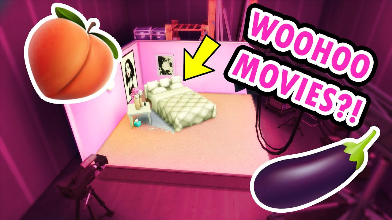 """Download I Built a """"WICKED WHIMS"""" Movie Studio in The Sims 4 (Speed Build)"""
