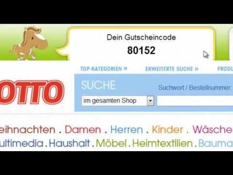 Otto Gutschein Einlösen Mit Gutscheinponyde Youtube