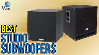 8 Best Studio Subwoofers 2017