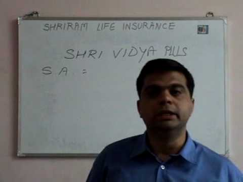 Shriram Life Insurance Co. Ltd. --- Shrividya Plus (hindi)