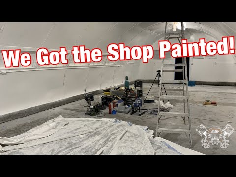 We Are Finally Painting the Weedz Garage Shop