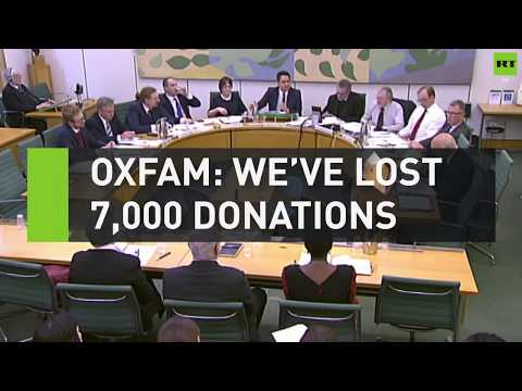 Oxfam: We've lost 7,000 donations