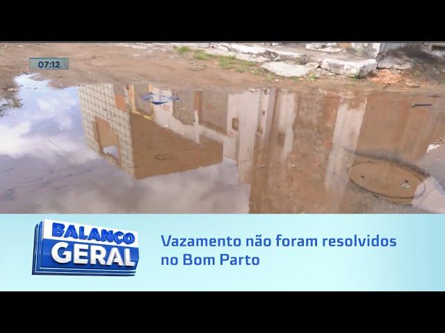 Rio de desperdício: Vazamento não foram resolvidos no Bom Parto
