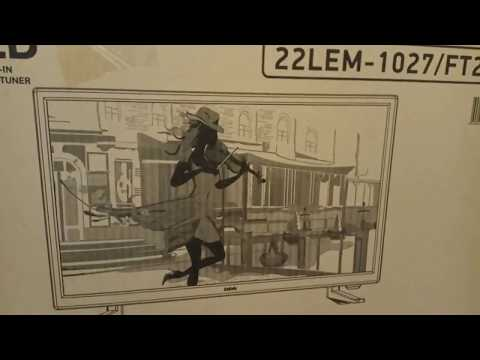 ОНЛАЙН ТРЕЙД.РУ — Телевизор BBK 22LEM-1027/FT2C, черный