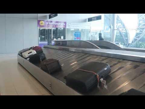 Meeting the driver at Suvarnabhumi International Airport