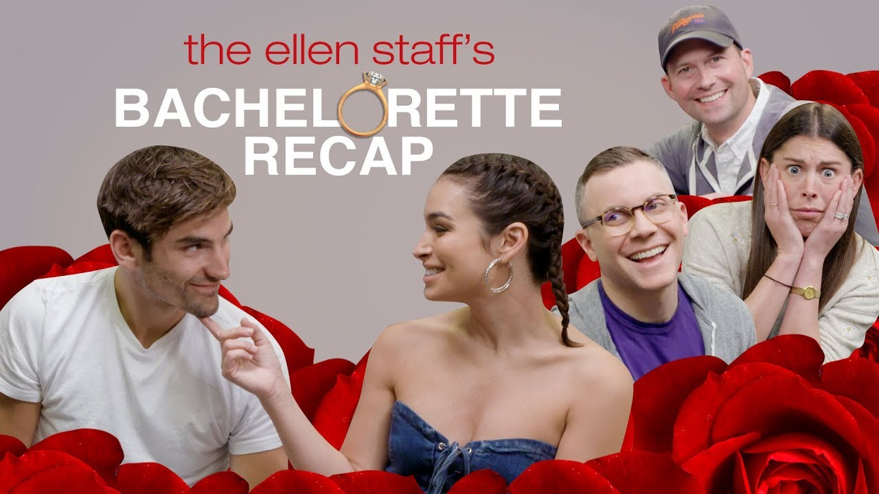 Ellen's Staff Breaks Down 'Bachelorette' Drama with Ashley Iaconetti and Jared Haibon