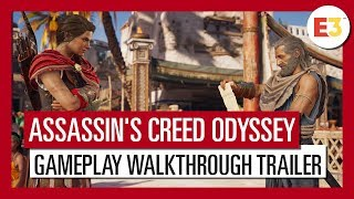 Assassin's Creed Odyssey: E3 2018 Gameplay Walkthrough Trailer