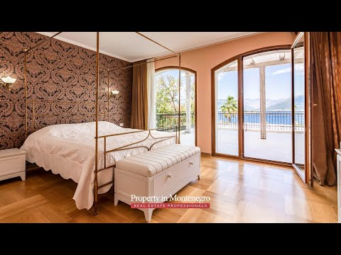 Luxury Waterfront Villa For Sale in Kaludjerovina - Property in Montenegro