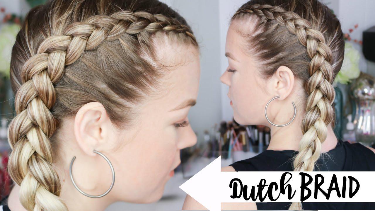 How to Dutch Braid | Braiding 101 - YouTube