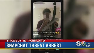 'Round 3 on Florida:' St. Pete teen arrested for school shooting threat on Snapchat