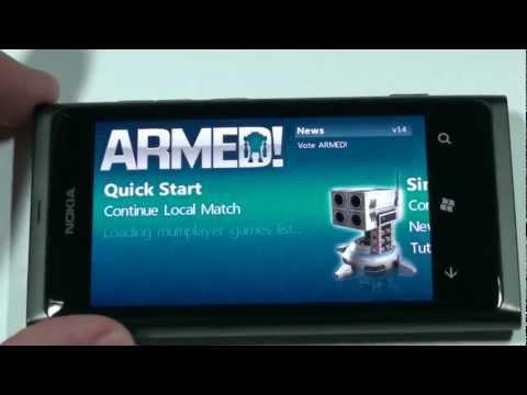 Игры: обзор пошаговой 3D стратегии ARMED! для WP7