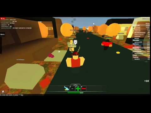 Roblox: A Hacker In Work At A Pizza Place