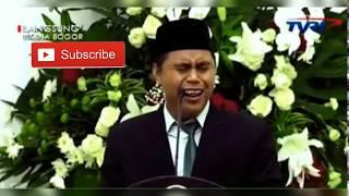Viral !!! Salman Amrillah Qori Di Istana Negara Dasi Miring Acara Maulid Nabi Muhammad SAW