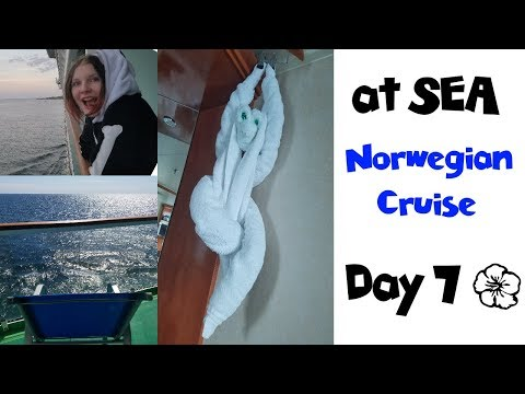 Norwegian Gem Cruise Day 7 ... @ Sea! • NYC Land & Sea Travel Vlogs [ep31]