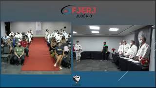CERIMÔNIA DE ENTREGA DE FAIXAS 2021 - FJERJ