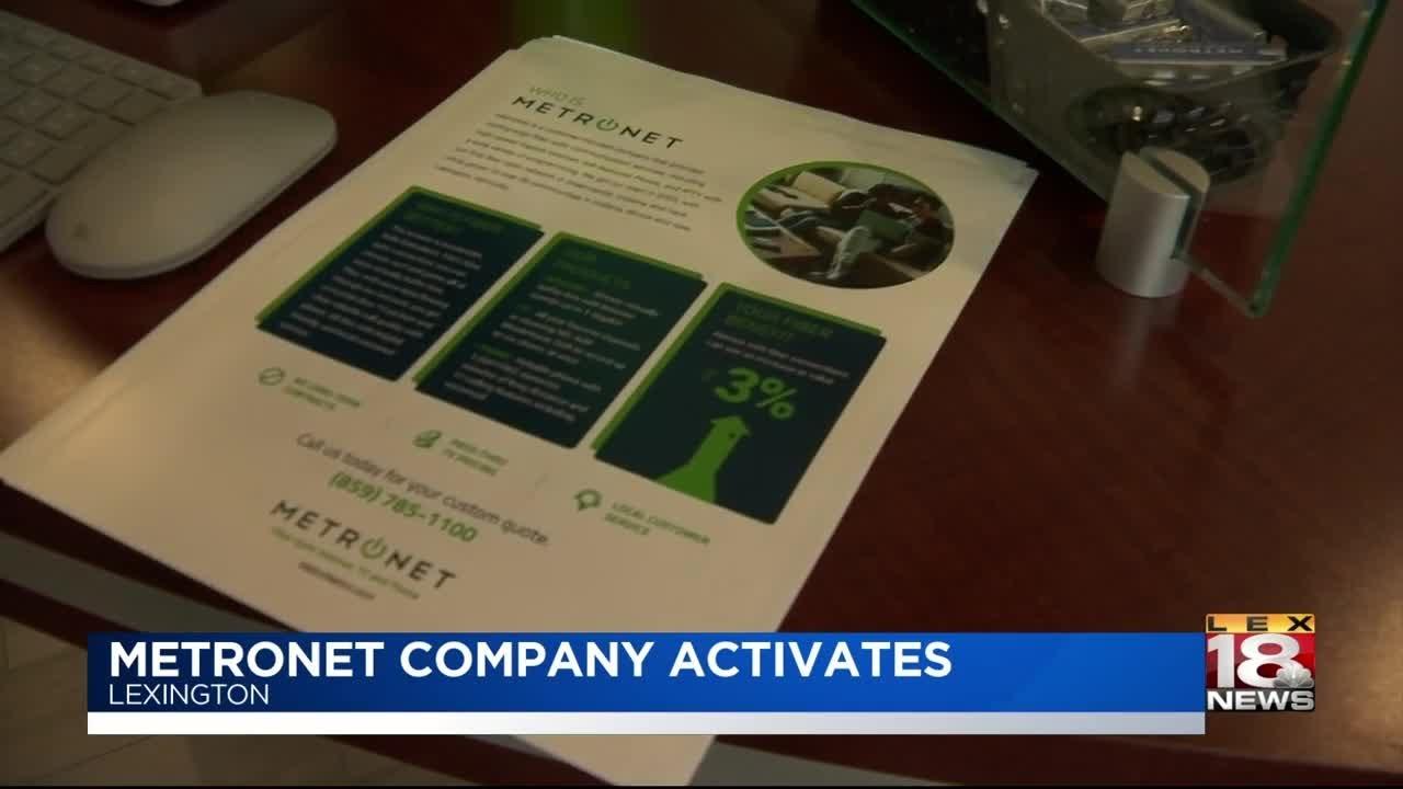 MetroNet Company Activates