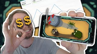 Getting RICH with MOBILE GAMES?!? My first mobile game revenue (After 1 week)