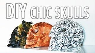 DIY Chic Skulls
