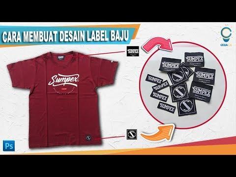 Cara Membuat Desain Label Baju Dengan Photoshop