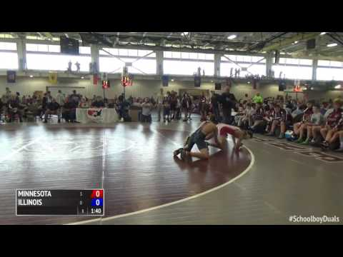 2016 Schoolboy Duals Freestyle Finals Illinois vs. Minnesota