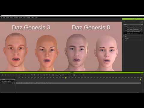 iClone & 3DXchange 7 21] Optimized Genesis 8 and Daz Import