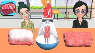 FOOD CUTTING - All Levels Gameplay IOS, Android screenshot 3