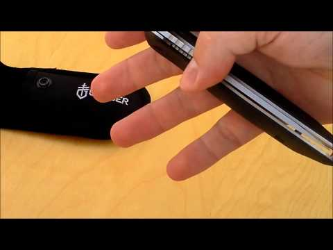 Gerber Moment Folding Sheath Hunting Knife Review