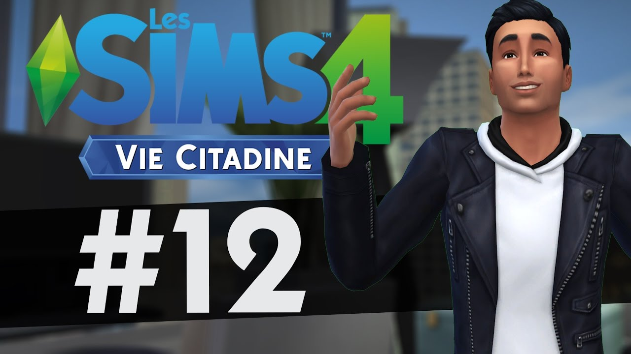 let 39 s play les sims 4 vie citadine 12 promotion youtube. Black Bedroom Furniture Sets. Home Design Ideas
