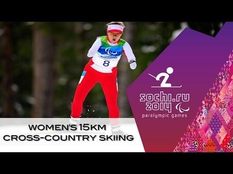 Women's 15km cross-country  standing, men's/women's visually impaired  | Sochi 2014 Paralympics