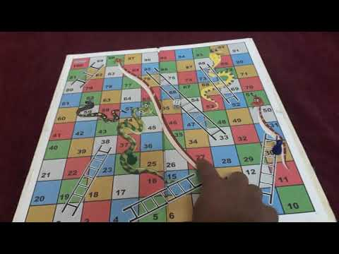 Who To Play The SNAKE AND LADDERS Game