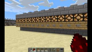 minecraft minecart transport stations a to z part 4 analog redstone and 8 and 64 way stations