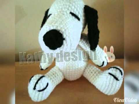 Amigurumi Tutorial Snoopy : Snoopy youtube