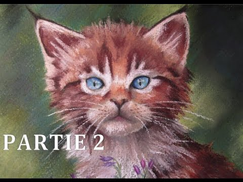 Tutoriel N°6] Peindre Un Chaton Au Pastel Sec - Partie 2 - Youtube