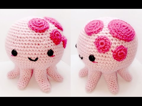 Octopus Amigurumi Crochet Tutorial