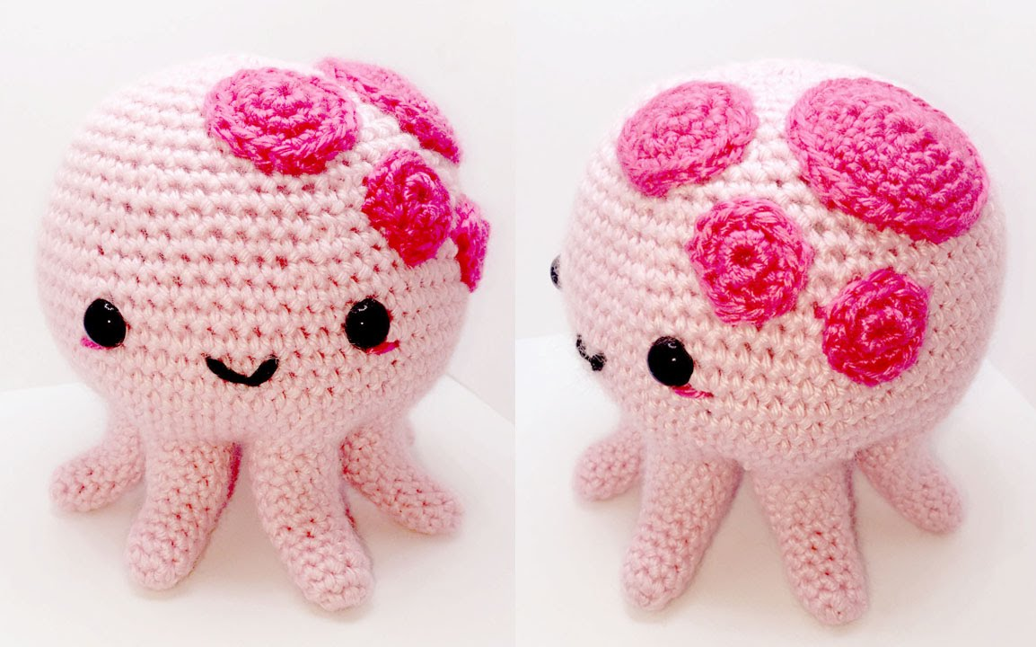Easy Amigurumi Octopus : This is my favorite octopus pattern and great for a first one
