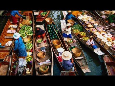 Download THAILANDIA TRIP 2017   FLOATING MARKET -  DAMNOEN SADUAK    PT.2