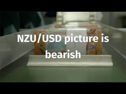 NZD/USD like the AUD/USD; picture is bearish