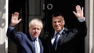 Boris Johnson meets first EU leader since becoming Prime Minister