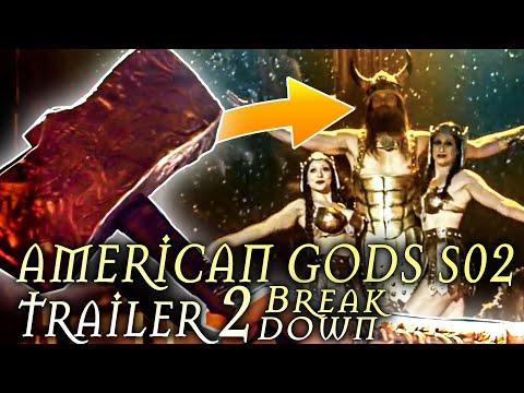 American Gods Season 2 TRAILER 2 Shot By Shot Breakdown
