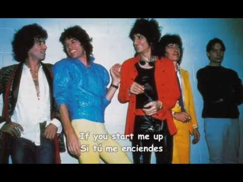 """Start Me Up"" The Rolling Stones (sub. inglés y español)"
