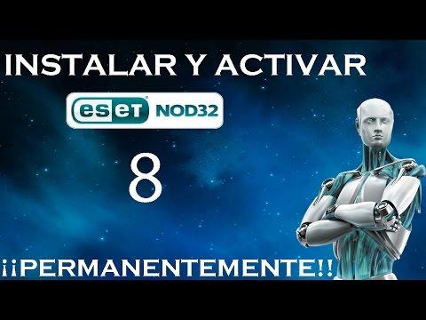 Descargar e Instalar ESET NOD32 Antivirus 8 Full + Activador de Por Vida | 32 y 64 Bits |