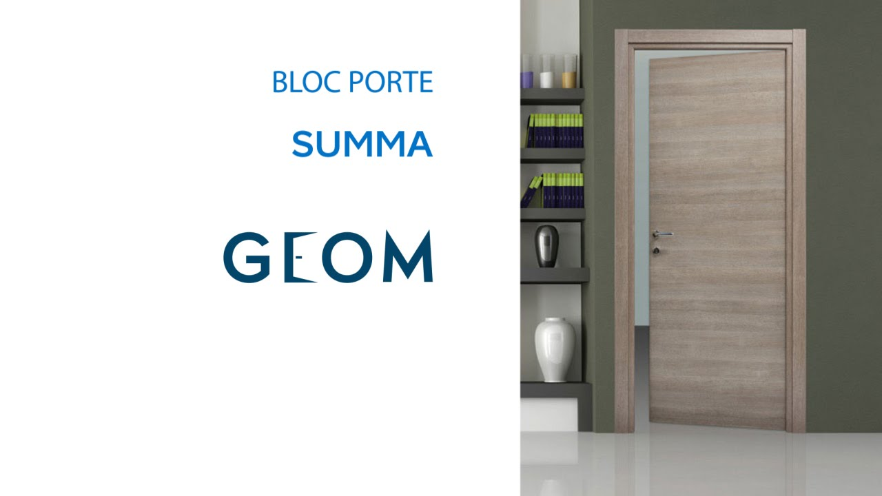 bloc porte fin de chantier summa geom 618291 castorama. Black Bedroom Furniture Sets. Home Design Ideas