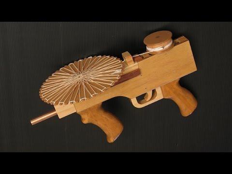 RevArm-2 rubber band machine gun