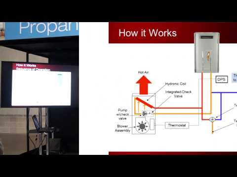 How to Use a Tankless Water Heater in a Forced-Air Heating System