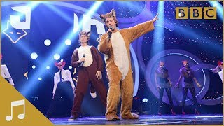 Repeat youtube video Ylvis: The Fox (What Does the Fox Say?) - BBC Children in Need: 2013 - BBC